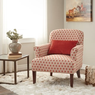 Clay Alder Home Chantilly Arm Chair Honeycomb Rust