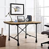 Raise Wood Office Desk