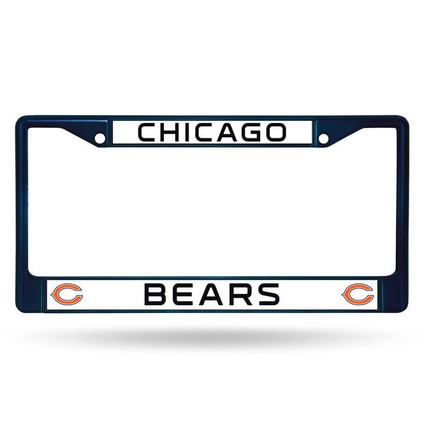 Chicago Bears NFL Navy Color License Plate Frame