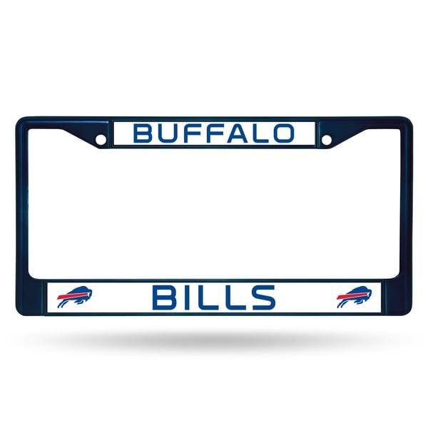 Buffalo Bills NFL Navy Color License Plate Frame