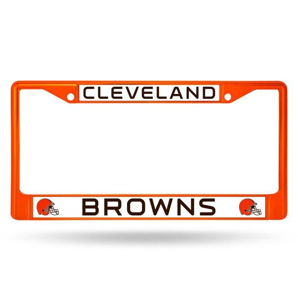 Cleveland Browns NFL Orange Color License Plate Frame