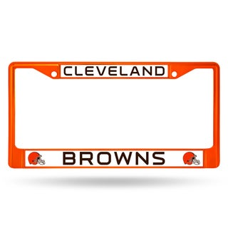 Cleveland Browns NFL Orange Color License Plate Frame