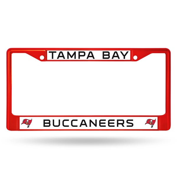 Tampa Bay Buccaneers NFL Red Color License Plate Frame
