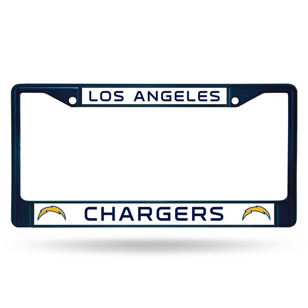 Los Angeles Chargers NFL Navy Color License Plate Frame