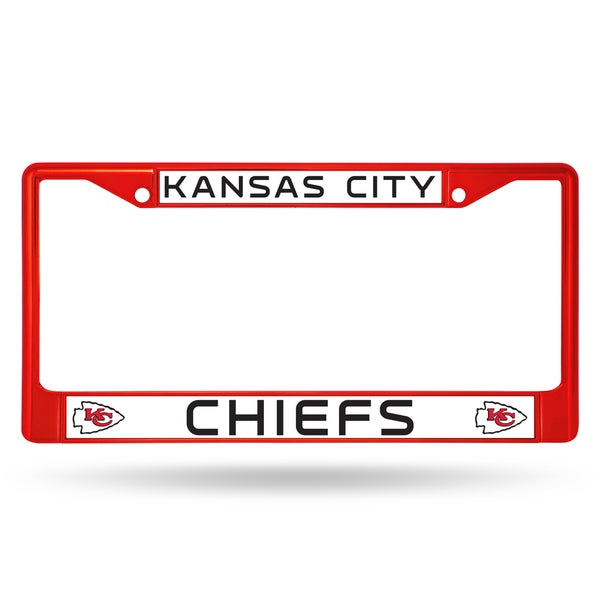Kansas City Chiefs NFL Red Color License Plate Frame