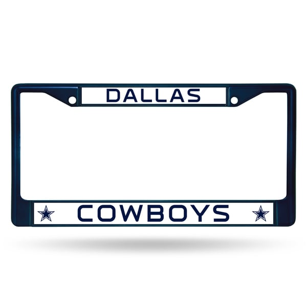 Dallas Cowboys NFL Navy Color License Plate Frame