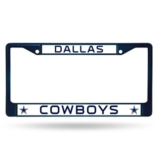 Dallas Cowboys NFL Navy Color License Plate Frame