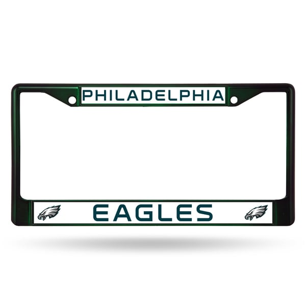 Philadelphia Eagles NFL DkGrn Color License Plate Frame