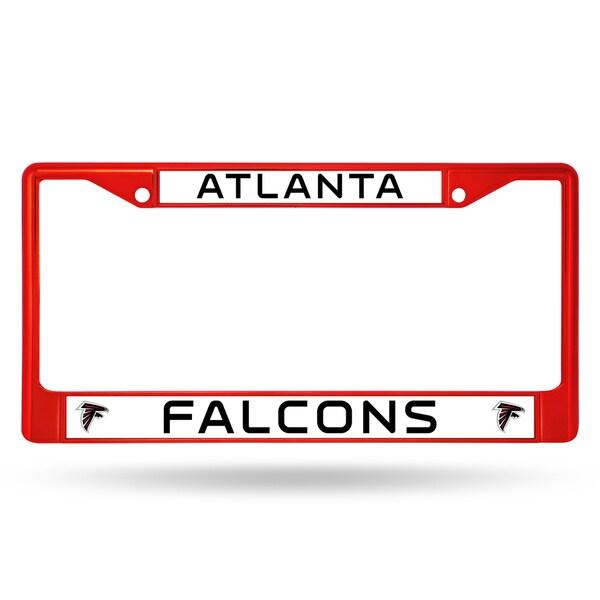 Atlanta Falcons NFL Red Color License Plate Frame