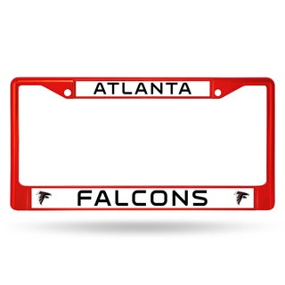 Atlanta Falcons NFL Red Color License Plate Frame