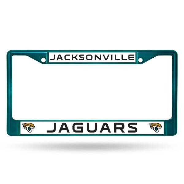 Jacksonville Jaguars NFL Aqua Color License Plate Frame