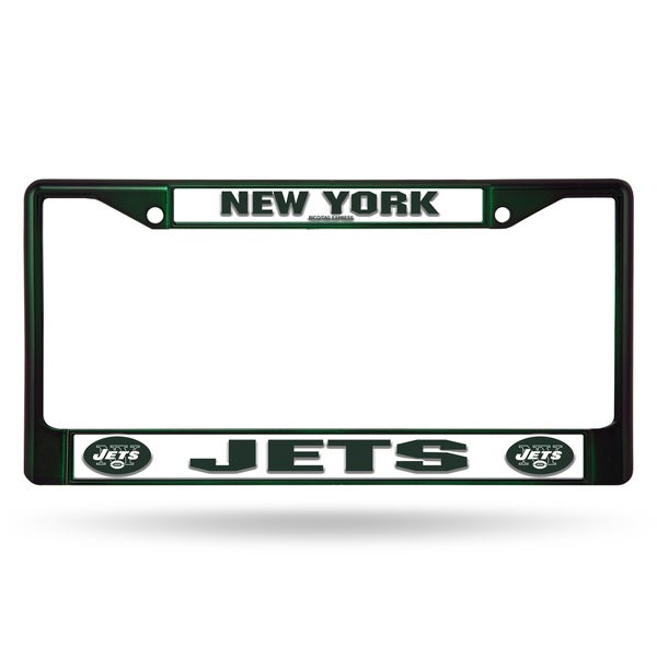 New York Jets NFL Dark Green Color License Plate Frame