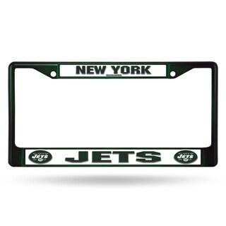 New York Jets NFL Dark Green Color License Plate Frame