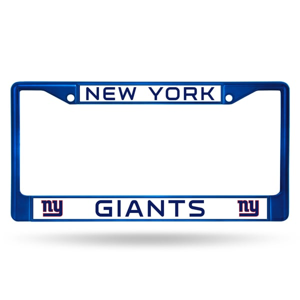 New York Giants NFL Blue Color License Plate Frame