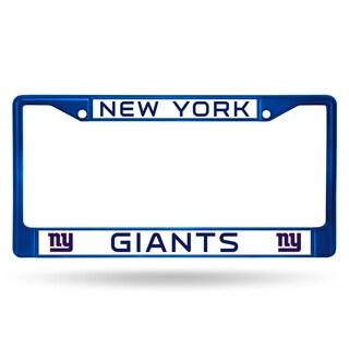 New York Giants NFL Blue Color License Plate Frame