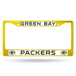 Link to Green Bay Packers NFL Yellow Color License Plate Frame Similar Items in Fan Shop