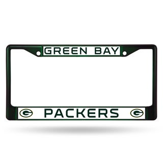 Green Bay Packers NFL DkGrn Color License Plate Frame