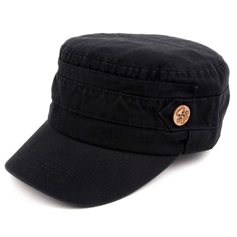 95b0011ec74280 Buy Black Men's Hats Online at Overstock | Our Best Hats Deals
