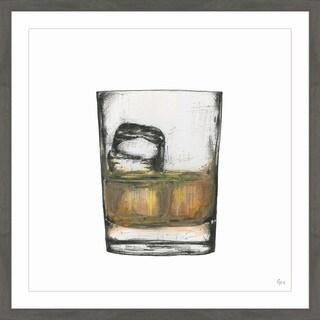 'Bourbon on the Rocks II' Framed Painting Print