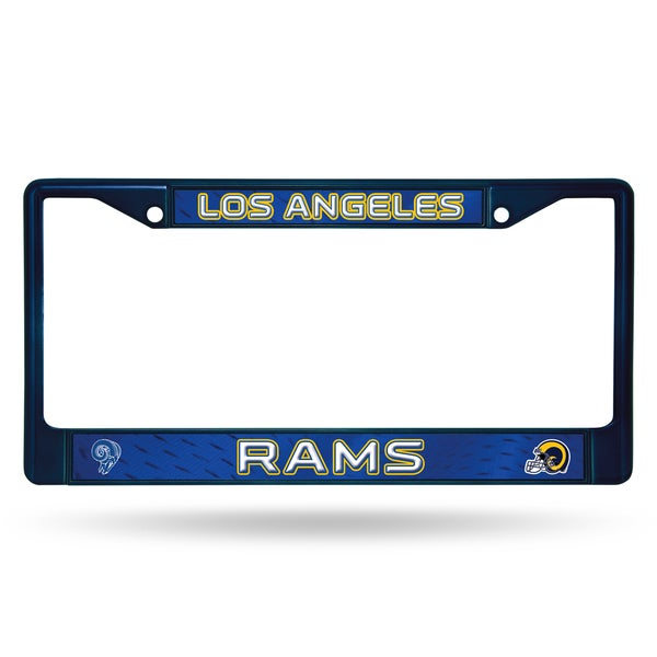 Los Angeles Rams NFL Navy Color License Plate Frame