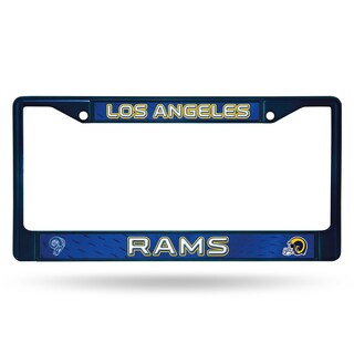 Los Angeles Rams NFL Navy Color License Plate Frame