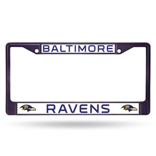 Baltimore Ravens NFL Purple Color License Plate Frame