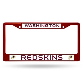 Washington Redskins NFL Maroon License Plate Frame