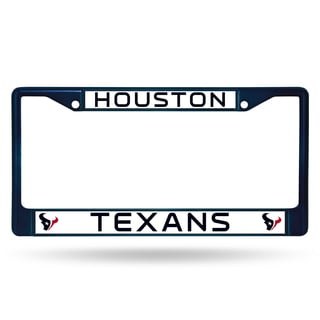 Houston Texans NFL Navy Color License Plate Frame
