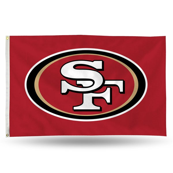 San Francisco 49ers NFL 5 Foot Banner Flag