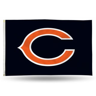Chicago Bears NFL 5 Foot Banner Flag