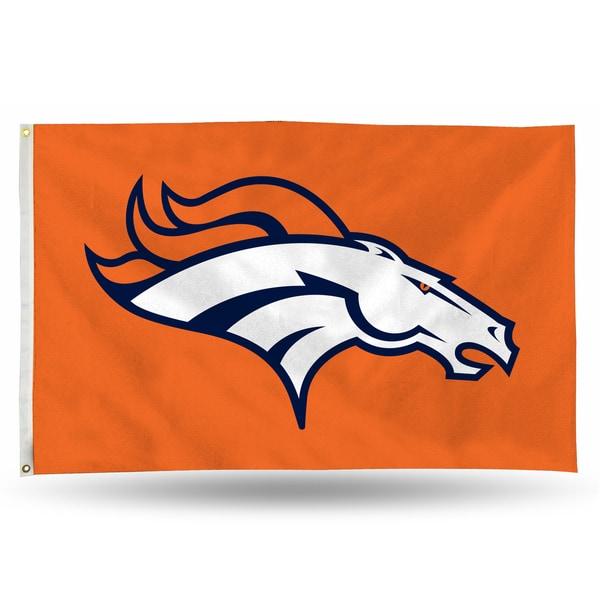 Denver Broncos NFL 5 Foot Banner Flag