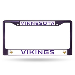 Minnesota Vikings NFL Purple Color License Plate Frame
