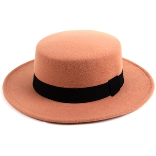 Pop Fashionwear Women's Felt Cordobes Hat (Option: Beige)