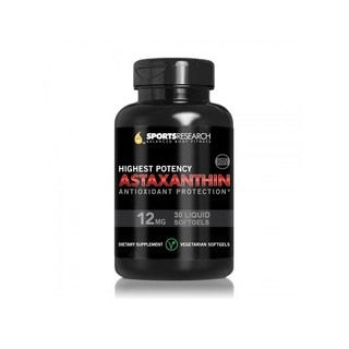 Sports Research Astaxanthin 12mg (30 Capsules)