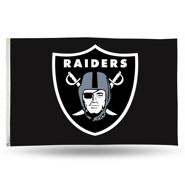 Oakland Raiders NFL 5 Foot Banner Flag