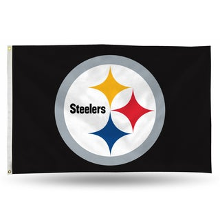 Pittsburgh Steelers NFL 5 Foot Banner Flag