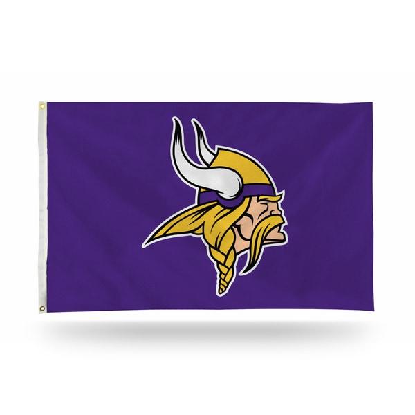 Minnesota Vikings NFL 5 Foot Banner Flag