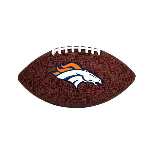 Denver Broncos NFL Official Size Game Time Football