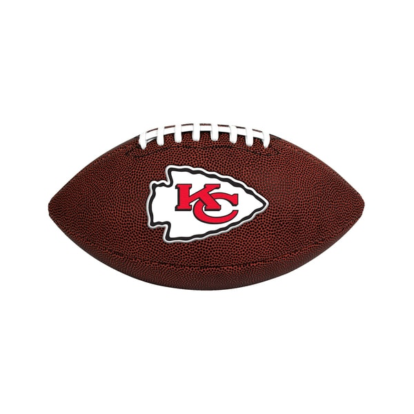 Kansas City Chiefs NFL Official Size Game Time Football