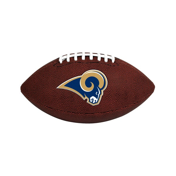 Los Angeles Rams NFL Official Size Game Time Football