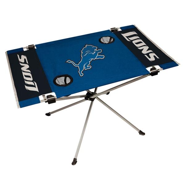 Detroit Lions NFL End Zone Tailgate Table