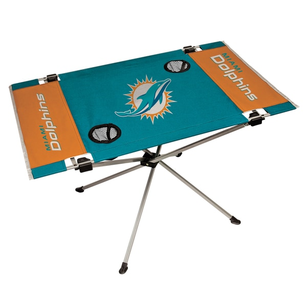 Miami Dolphins NFL End Zone Tailgate Table