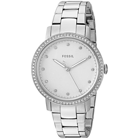 Fossil Women's 'Neely' Crystal Stainless Steel Watch