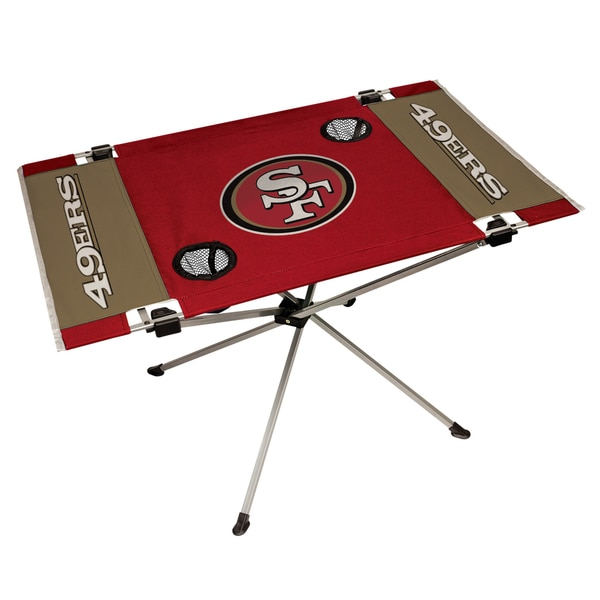 San Francisco 49ers NFL End Zone Tailgate Table
