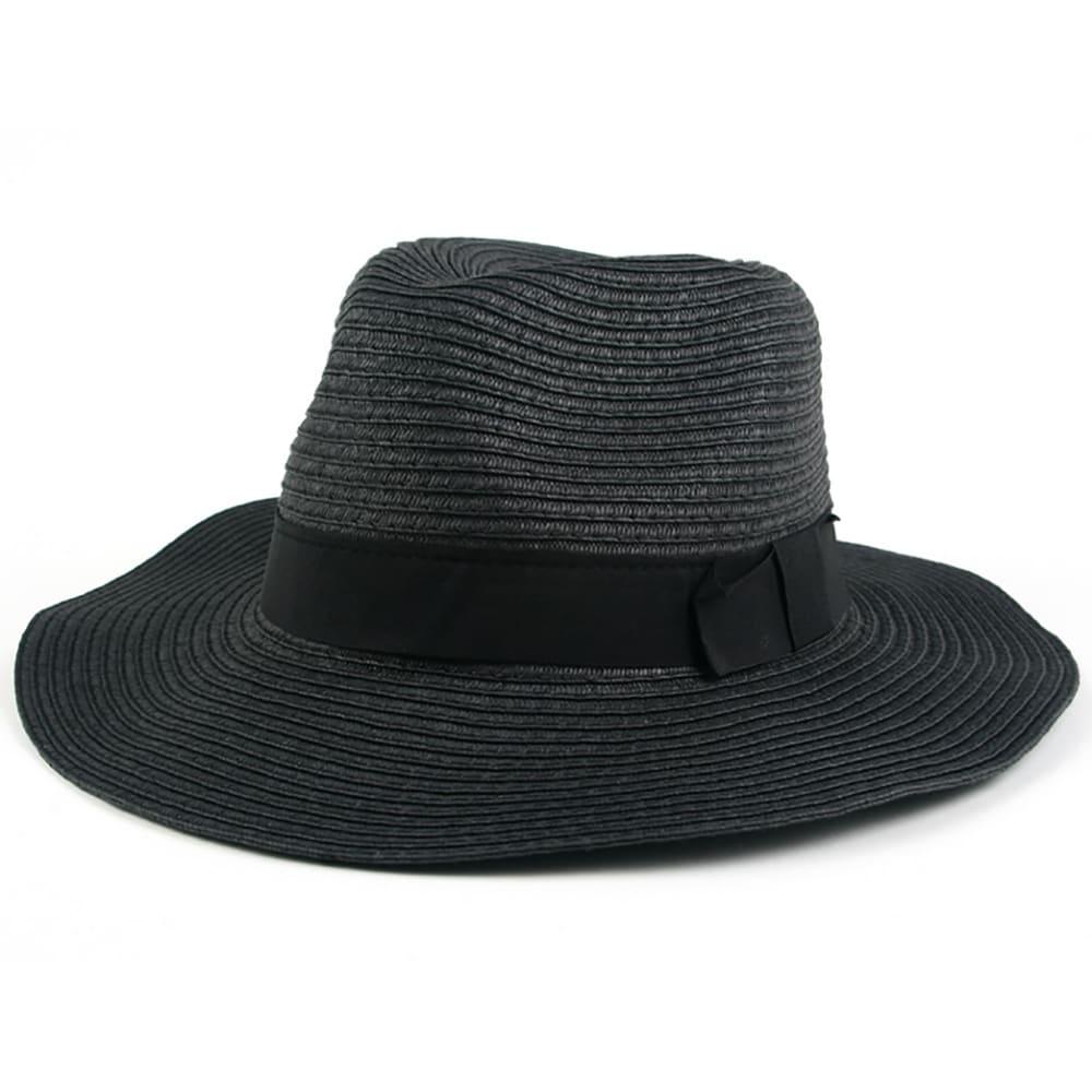 fa9f048e5c13f1 Pop Fashionwear Women's Wide Brim Fedora Hat | eBay