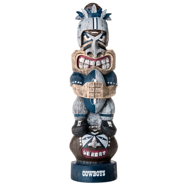 Dallas Cowboys NFL Tiki Totem