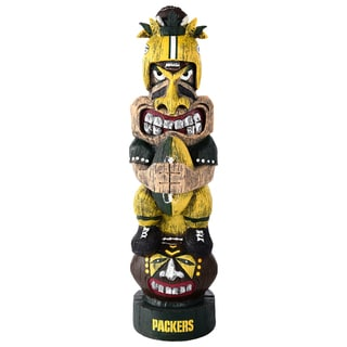 Green Bay Packers NFL Tiki Totem