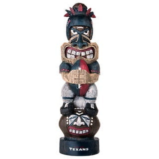 Houston Texans NFL Tiki Totem