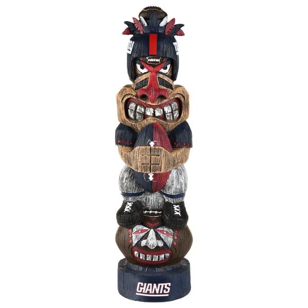 New York Giants NFL Tiki Totem