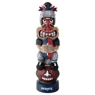 New England Patriots NFL Tiki Totem
